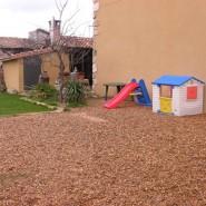 Jardin y barbacoa